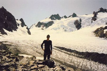 Mount olympus peakbagger mount olympus rises spectacularly above the blue glacier 1992 08 16 sciox Choice Image